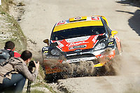 Martin Prokop (CZE) and Michael Ernst (CZE), Ford Fiesta RS WRC of JIPOCAR CZECH NATIONAL TEAM during WRC Fafe Rally Sprint 2013, in Fafe, Portugal on April 6, 2013 (Photo Credits: Paulo Oliveira/DPI/NortePhoto)