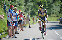 Nicolas Roche (IRL)<br /> <br /> Tour de France 2013<br /> stage 20: Annecy to Annecy-Semnoz<br /> 125km