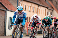 Tom Van Asbroeck (BEL/Israel - StartUp Nation)<br /> <br /> 44th AG Driedaagse Brugge-De Panne 2020 (1.UWT / BEL)<br /> 1 day race from Brugge to De Panne (203km shortened to 188km due to the windy weather conditions) <br /> <br /> ©kramon