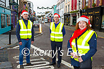 Killarney BNI members l-r: Tony Dunne, John McEnery and Anne Hannon are preparing for the busy lead up to Christmas