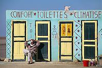 Toilette, Schott el Djerid, Tunesien