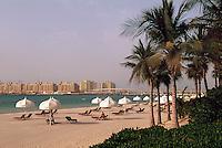 Vereinigte arabische Emirate (VAE, UAE), Dubai, Strand des Hotel One & Only Royal Mirage