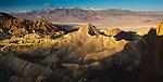 Manly Beacon, Golden Canyon, Death Valley National Park, Californai