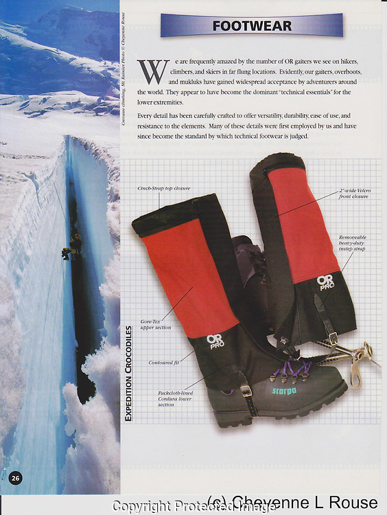Outdoor Research catalog