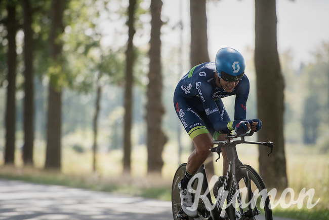 Michael Hepburn (AUS/Orica-BikeExchange)<br /> <br /> 12th Eneco Tour 2016 (UCI World Tour)<br /> stage 2: Breda-Breda iTT (9.6km)