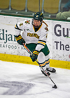 9 February 2020: University of Vermont Catamount Defender Sini Karjalainen, a Sophomore from Posio, Finland, in 3rd period action against the University of Connecticut Huskies at Gutterson Fieldhouse in Burlington, Vermont. The Lady Cats defeated the Huskies 6-2 in the second game of their weekend Hockey East series. Mandatory Credit: Ed Wolfstein Photo *** RAW (NEF) Image File Available ***