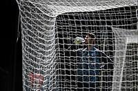 24th April 2021; Vicarage Road, Watford, Hertfordshire, England; English Football League Championship Football, Watford versus Millwall; Daniel Bachmann (Watford goalkeeper) takes a drink during warm up.