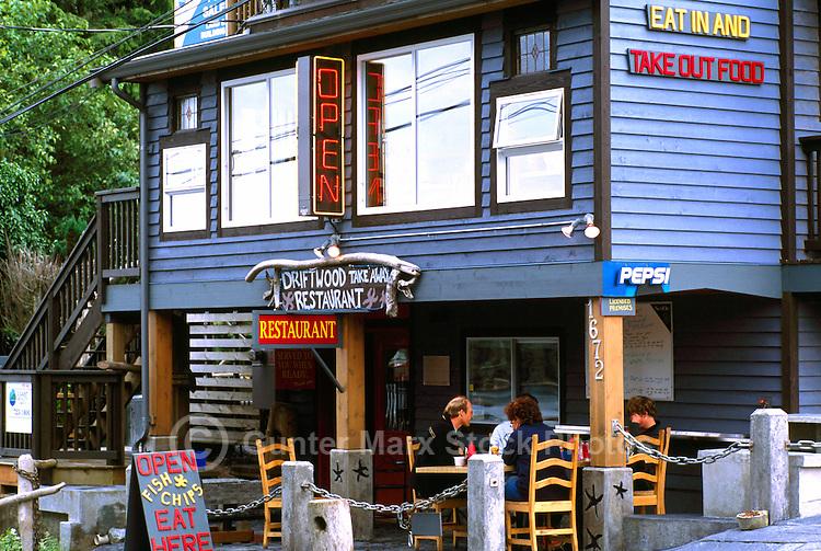 Restaurant in Ucluelet, BC, Vancouver Island, British Columbia, Canada