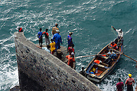 Fischereihafen von Paul (Vila das Pombas), Santo Antao, Kapverden, Afrika