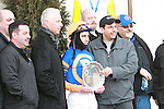 01 20 2011: Favorite Calibrachoa, with Ramon Dominguez aboard, wins the 118th running of the Grade III Tobaggon Stakes for 3-year olds & up, at 6 furlongs, on the inner dirt track, Aqueduct Racetrack, Jamaica, NY. Trainer Todd Pletcher. Owners Repole Stable.