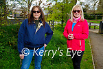 Enjoying a stroll in the Listowel town park on Saturday, l to r: Terry Moloney and Sylvia Hughes.