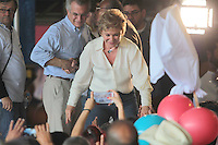 SÃO PAULO,SP,30.07.2016 - ELEIÇÕES-SP - Marta Suplicy e Andrea Matarazzo durante convenção municipal do PMDB 2016 na região norte de São Paulo,neste sábado (30).  (Foto : Marcio Ribeiro / Brazil Photo Press)