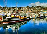 Fishing boats, Gibson's Harbour, B.C.
