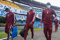 BOGOTÁ – COLOMBIA, 20-06-2021: Deportes Tolima por la final vuelta como parte de la Liga BetPlay DIMAYOR I 2021 jugado en el estadio Nemesio Camacho El Campin de la ciudad de Bogotá. / Deportes Tolima in the second leg final match as part of BetPlay DIMAYOR League I 2021 played at Nemesio Camacho El Campin Stadium in Bogota city. Photos: VizzorImage / Daniel Garzon / Cont.