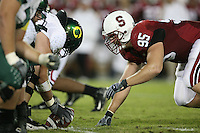 22 September 2007: Chris Horn during Stanford's 55-31 loss to the University of Oregon at Stanford Stadium in Stanford, CA.