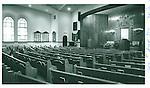 The interior of Beth El Synagogue in Waterbury. 05 June 1993
