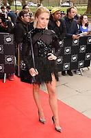 Gaby Allen<br /> arriving for TRIC Awards 2018 at the Grosvenor House Hotel, London<br /> <br /> ©Ash Knotek  D3388  13/03/2018