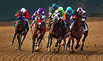 AUG 10: Collusion Illusion with Joe Talamo up (white cap) wins the Best Pal Stakes at The Del Mar Thoroughbred Club in Del Mar, California on August 10, 2019. Chris Crestik/Eclipse Sportswire/CSM