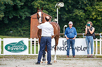 NZL-Tim Price presents Jarillo during the 1st Horse Inspection for the CCI2*-L. FRA-Le Grand Complet - Haras du Pin FEI Nations Cup Eventing. Le Pin au Haras. Normandie. France. Thursday 12 August 2021. Copyright Photo: Libby Law Photography