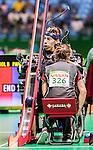 Eric Bussiere, Rio 2016 - Boccia.<br /> The Canadian BC3 team takes on Belgium in mixed pairs preliminaries // L'équipe canadienne BC3 affronte Belgique dans les préliminaires mixtes. 10/09/2016.