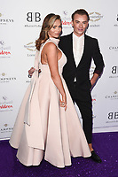 Amy Childs and Harry Derbridge<br /> arriving for Caudwell Butterfly Ball 2019 at the Grosvenor House Hotel, London<br /> <br /> ©Ash Knotek  D3508  13/06/2019