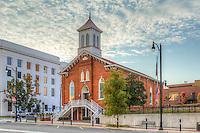 The Dexter Avenue King Memorial Baptist Church in Montgomery, Alabama.