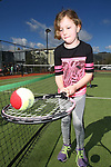 NELSON, NEW ZEALAND - SEPTEMBER 23: Babetta Trewavas at the Open Day Tennis on September 23 2017 in Nelson, New Zealand. (Photo by: Evan Barnes Shuttersport Limited)
