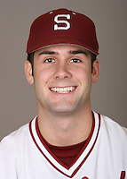 STANFORD, CA - JANUARY 7:  Max Fearnow of the Stanford Cardinal baseball team poses for a headshot on January 7, 2009 in Stanford, California.
