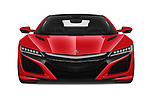 Straight front view of a 2018 Acura NSX Exclusive 2 Door Coupe