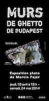 Budapest 1944 ghetto wall - 2012/2014
