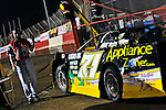 Feb 09, 2011; 7:25:47 PM; Gibsonton, FL., USA; The Lucas Oil Dirt Late Model Racing Series running The 35th annual Dart WinterNationals at East Bay Raceway Park.  Mandatory Credit: (thesportswire.net)