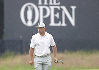 12th July 2021; The Royal St. George's Golf Club, Sandwich, Kent, England; The 149th Open Golf Championship, practice day; Bryson Dechambeau (USA) completes his practice round