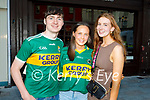 Enjoying the evening in Killarney on Saturday, l to r: David Nolan (Tralee), Maeve Pierce (Tralee) and Mary Ann Sullivan (Tralee).