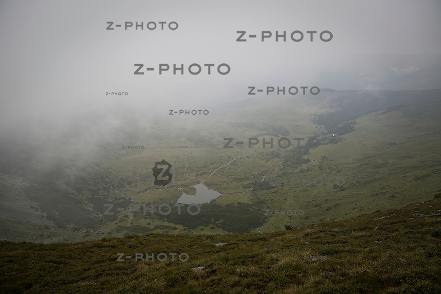 Romania Trekking Trail in the Carpathian Mountains National Park Calimani an National Park Rodnei 2014<br /> <br /> Copyright © Zvonimir Pisonic