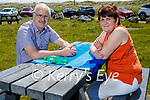 Enjoying a relaxing break in Banna on Sunday, l to r: Martin and Phil Sheehan.