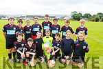Camp U12 team who played the Park FC on Saturday.<br /> Front l to r: Darragh Goodwin, David O'Donnell, Jason Barrett, Adam O'Brien (Keeper), Mark Griffin, Saoirse McCarthy and Anna Roberts.<br /> Standing l to r: Eoin Moriarty, Padraig Ferrther, Fionnan Barry, Shay Griffin, Rory Shanahan, Jamie Finn, Darius McCormack and Ray McCarthy.