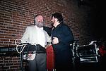 Garth Hudson & Jo-el Sonner in Los Angeles 1987.