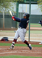 Noah Bo Naylor- Cleveland Indians 2019 spring training (Bill Mitchell)