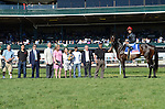 April 19, 2014:  Ageless and jockey Julien Leparoux win the listed Giant's Causeway Stakes at Keeneland for owner Lael Stable and trainer Arnaud Delacour .Jessica Morgan/ESW/CSM