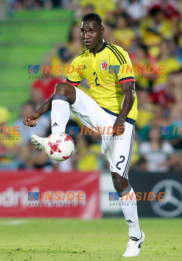 Colombia's Cristian Eduardo Zapata during international friendly match. June 13,2017.(ALTERPHOTOS/Acero/Insidefoto)<br /> Camerun - Colombia <br /> Foto Acero/Alterphotos/Insidefoto <br /> ITALY ONLY