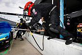 #22: Gradient Racing Acura NSX GT3, GTD: Till Bechtolsheimer, Marc Miller, pit stop