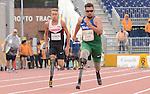 Cody Salomons, Toronto 2015 - Para Athletics // Para-athlétisme.<br /> Cody Salomons competes in the Men's 100m T44 Final // Cody Salomons participe à la finale du 100 m T44 masculin. 11/08/2015.