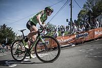 Paulien Rooijakkers (NED/WaowDeals Pro Cycling team), Mur de Huy<br /> 21st La Flèche Wallonne Femmes <br /> 1 day race: Huy - Huy (118,5KM)