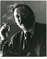 Jacques Parizeau<br /> , 7 decembre 1980<br /> <br /> PHOTO : Agence Quebec Presse