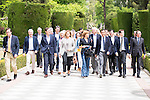 Candidates to the Congress of Deputies with Maria Dolores de Cospedol at front in Madrid. May 24, 2016. (ALTERPHOTOS/Borja B.Hojas)