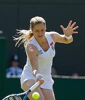 28-06-10, Tennis, England, Wimbledon,  Kim Clijsters