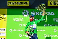 17th July 2021, St Emilian, Bordeaux, France;  CAVENDISH Mark (GBR) of DECEUNINCK - QUICK - STEP after stage 20 of the 108th edition of the 2021 Tour de France cycling race, an individual time trial stage of 30,8 kms between Libourne and Saint-Emilion.