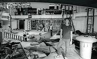 Rebuilding of Studio 544654.JPG<br /> Celebrity Archaeology<br /> 1981 FILE PHOTO<br /> New York City<br /> General Manager Michael Overington<br /> Rebuilding of Studio 54<br /> Photo by Adam Scull-PHOTOlink.net (Newscom TagID: phlphotos380264.jpg) [Photo via Newscom]
