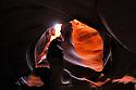 Anteope Canyon Arizona, Upper slot