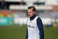 13th March 2021; Dens Park, Dundee, Scotland; Scottish Championship Football, Dundee FC versus Arbroath; Jason Cummings of Dundee during the warm up before the match